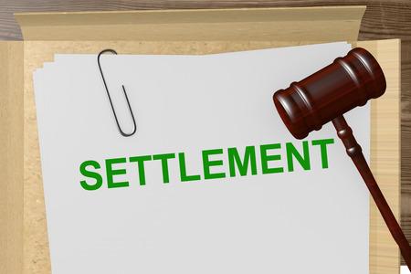First settlement proposal